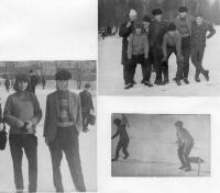 Р12-Р42 вып 1963-1967 :: урок физкультуры в Сокольниках